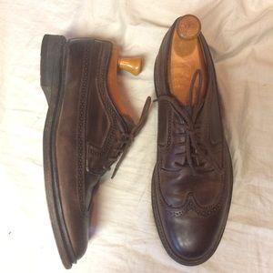 Frye Paul Wingtips Brown leather 8.5
